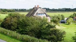 Bild: Ferienwohnung im Dachgeschoss eines sanierten Reet-Dach-Haus f. 4 Personen
